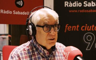 Pere Massagué gravant el 'Xocolata Express' a l'estudi | Nando Caballero