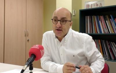 Josep Escartín, en una imatge d'arxiu/ Ràdio Sabadell