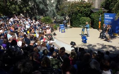 L'acte de campanya pel Sí del PdeCAT aplega 300 persones | Pau Duran