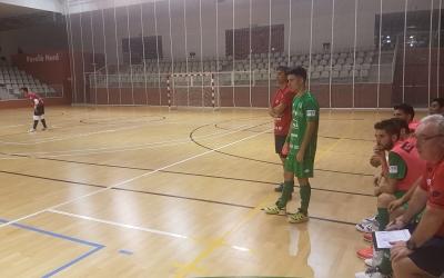 Alex Llamas, en una imatge del partit que l'Osasuna Magna va jugar contra el CNS