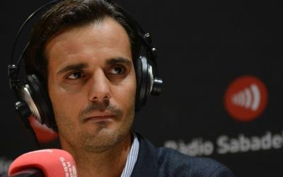 Batlle avui als estudis de Ràdio Sabadell | Roger Benet