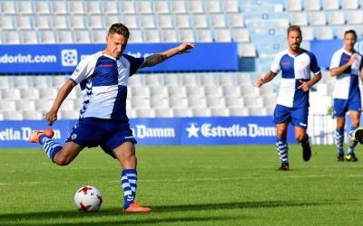 Marc Martínez en el partit contra el Peralada-Girona B | Críspulo Díaz