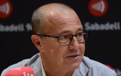 Joan Martí, als micròfons de Ràdio Sabadell/ Roger Benet