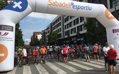Èxit de participació en la bicicletada d'enguany. Foto:  Roger Benet