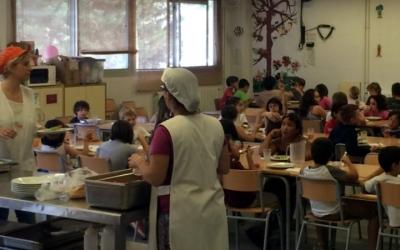 Menjador d'una escola vallesana/ Consell Comarcal