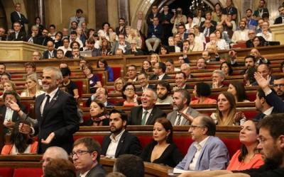 El Parlament aborda la llei del referèndum des d'aquest matí/ ACN