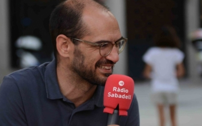 Maties Serracant, en una imatge d'arxiu/ Ràdio Sabadell