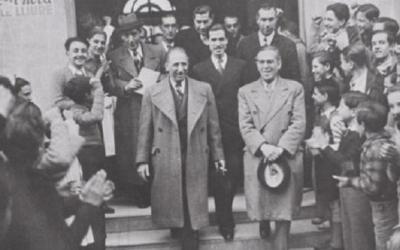 Lluís Companys en una foto d'arxiu. Foto: Òmnium Cultural.