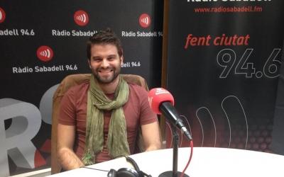 Albert Sallés ha passat pel pograma Al matí de Ràdio Sabadell. Foto: Raquel Garcia
