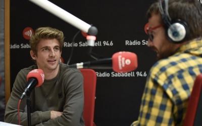 Sergi Pastells aquest migdia als estudis de Ràdio Sabadell | Roger Benet