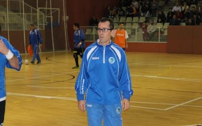 Diego Blanco, tècnic del Natació Sabadell | Adrián Arroyo