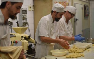 Obrador de la Pastisseria Sallés/ Roger Benet