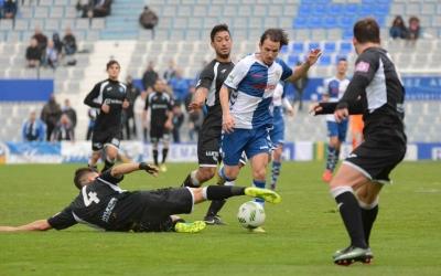 Gai Assulin, en el partit de la temporada passada contra l'Atlètic Balears | Roger Benet