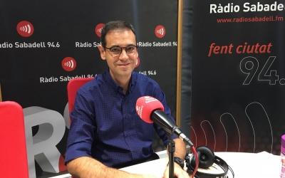 Ignasi Giménez al programa AL MATÍ de Ràdio Sabadell | Mireia Sans