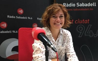 Elisenda ALamany al programa Al Matí de Ràdio Sabadell.