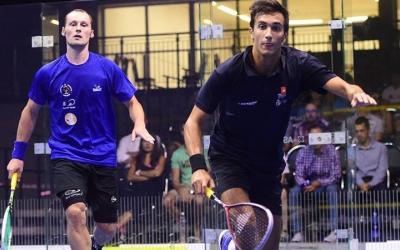 Iker Pajares en un torneig d'aquest any