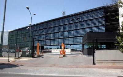 Exterior del complex central dels Mossos/ ACN