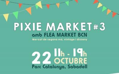 Imatge del cartell del Pixie Market. Foto: Cedida