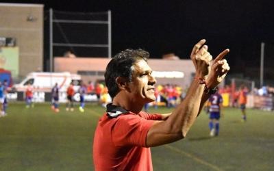 Toni Seligrat, satisfet amb el seu equip a Llagostera | Críspulo D.