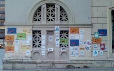 Empaperada organitzada per Sabadell per la Independència | Pere Gallifa