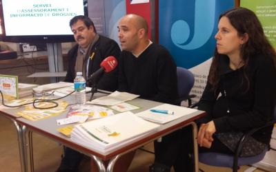 Vidal, Berlanga i Ferràndiz a la presentació del SAID | Pau Duran