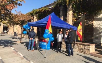 Parada informativa del Partit Popular de Sabadell | Cedida
