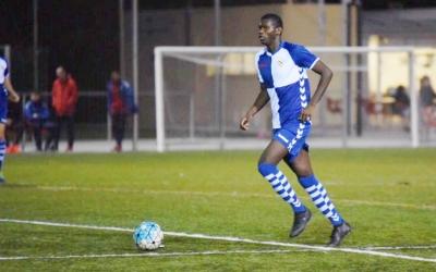 Moha Diallo dissabte passat a Olímpia | Roger Benet