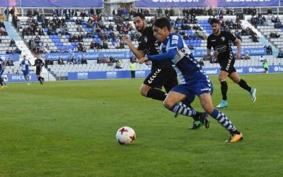 Mario ha gaudit d'una de les ocasions més clares del partit | Críspulo Díaz