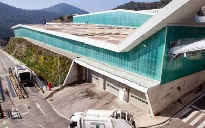 Exterior del Centre de Tractament de Residus de Vacarisses/ Cedida