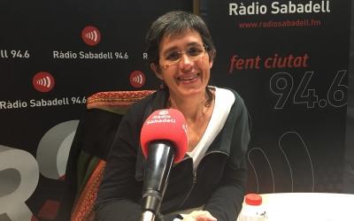 Carmina Carreras a l'entrevista d'aquest matí | Mireia Sans