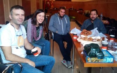 Vuit regidors de Rubí es tanquen a l'Ajuntament | Cedida