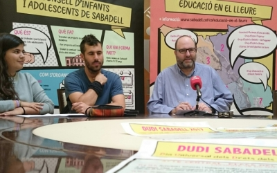 El regidor Miquel Soler en la presentació dels actes de celebració del Dia Universal dels Drets de la Infància.
