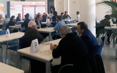 Una de les activitats del Fòrum ha estta un networking entre els participants.