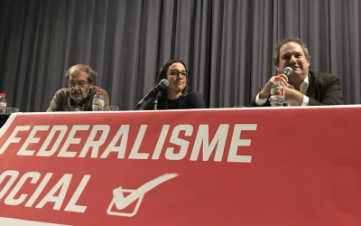 Presentació de Federalistes socials a Sabadell | Cedida