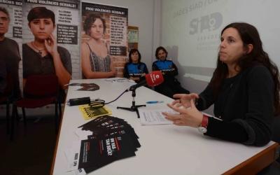 La regidora Míriam Ferràndiz ha presentat la campanya contra la violència de gènere. Foto: Roger Benet