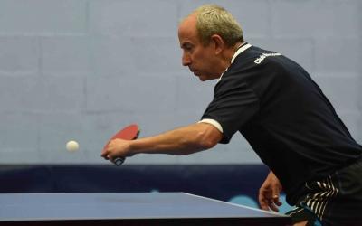 Pere Weisz, una de les peces claus d'aquest Natació Sabadell de tennis taula | Roger Benet