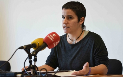 La regidora d'Habitatge, Glòria Rubio. Foto: Roger Benet