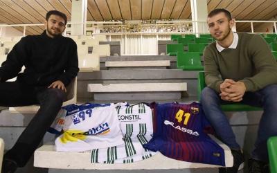 Tarrafeta i Gómez a la trobada organitzada per Ràdio Sabadell a Gràcia prèvia al derbi | Roger Benet