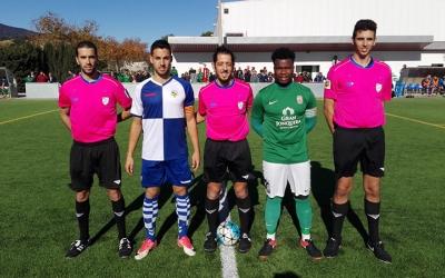 Sergi Estrada, capità del filial, no va poder anotar en el partit contra La Jonquera | UE La Jonquera