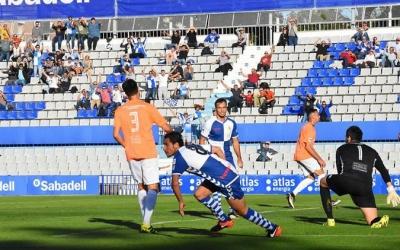 L'israelià va disputar els 90' d'un partit, contra l'Ebro, després de 9 mesos sense aconseguir-ho