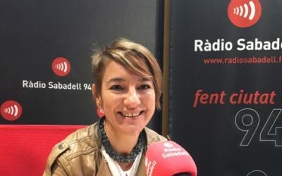 Loudes Ciuró als estudis de Ràdio Sabadell aquest octubre | Mireia Sans