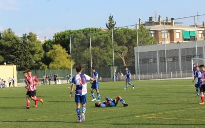 El juvenil del Sabadell no aconsegueix sortir de la zona baixa de la classificació | Adrián Arroyo