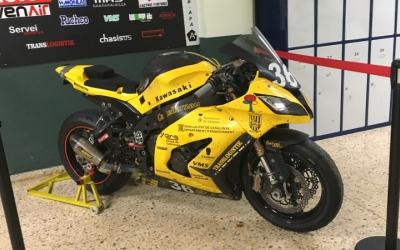 Amb aquesta moto va aconseguir l'IES Castellarnau el podi a les 24 hores de Catalunya