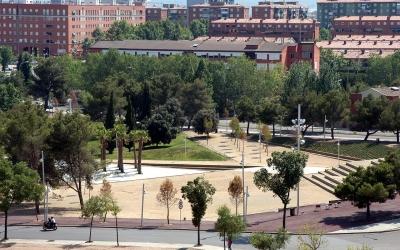 Imatge d'una de les zones urbanitzades del Parc del Nord | Foto: Ajuntament de Sabadell