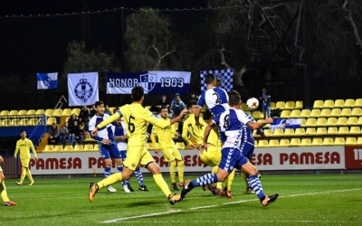 Pol Moreno va tornar a jugar a l'eix de la defensa arlequinada | Crispulo D.