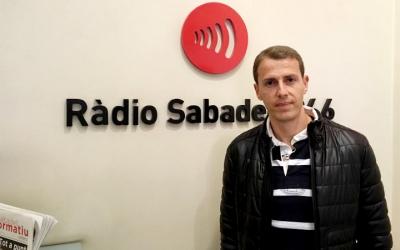 Medié Jiménez ha visitat avui Ràdio Sabadell | Sergi Garcés