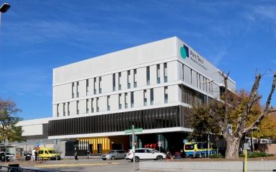 Exterior de l'Hospital de Sabadell/ Taulí