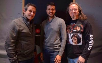 Jordi Brau, Ruben Gimeno i Luis Posada. | Foto: Roger Benet