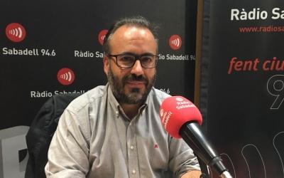 Barroso, als estudis de Ràdio Sabadell/ Mireia Sans