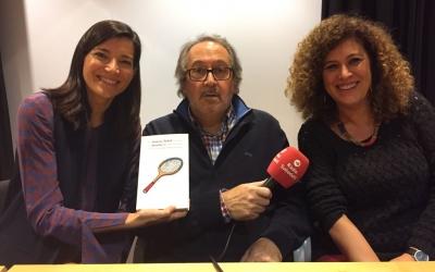 Ollo, Dalmases i Soley després de la presentació. | Foto: Ràdio Sabadell